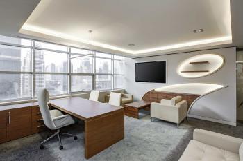 Blick in ein modernes Büro